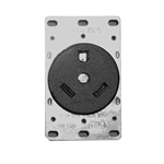 1263 COOPER 30 Amp Receptacle with Bracket