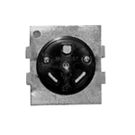 Midwest 30 Amp Receptacle with Plate