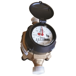 Recordall - Low Lead Direct Read Water Meter - 3/4 Inch - GALLON - Badger