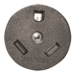 U1263 - Cooper 30 Amp Receptacle without Bracket