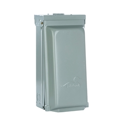 30 Amp Surface Mount Box - With Breaker