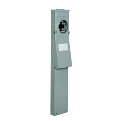 Ringless 50/30/20 GFI Pedestal With Light