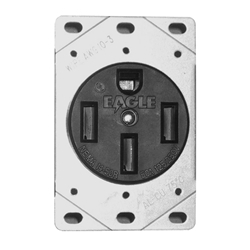 50 Amp Receptacle >> 1258 50 Amp Receptacle With Bracket