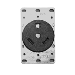 1263 - 30 Amp Receptacle with Bracket