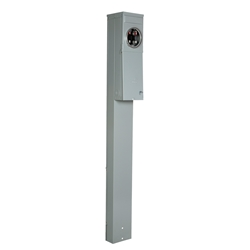 200 Amp Manufactured Home Pedestal - Ring style